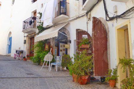 Van Ibiza stijl naar Ibiza stad